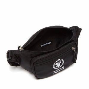 Balenciaga Bag WFB Embroidered nylon waist bag